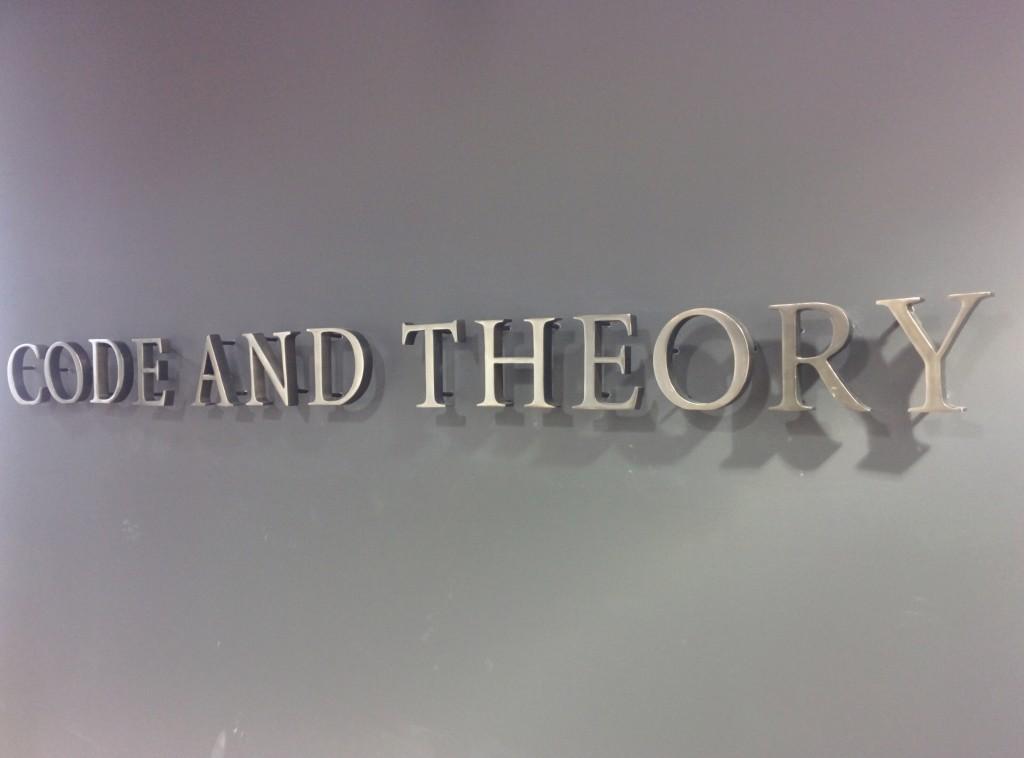 CodeAndTheory